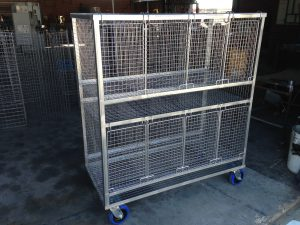 Custom Made Poultry Cages and Trolleys